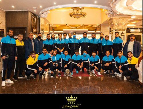 حضورتیم فوتبال باشگاه فرهنگی ورزشی شهرداری آستارا