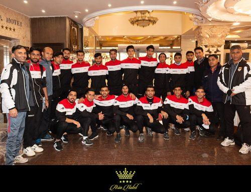 حضور تیم فوتبال امید فولاد خوزستان  در هتل ۴ ستاره  آریا ارومیه