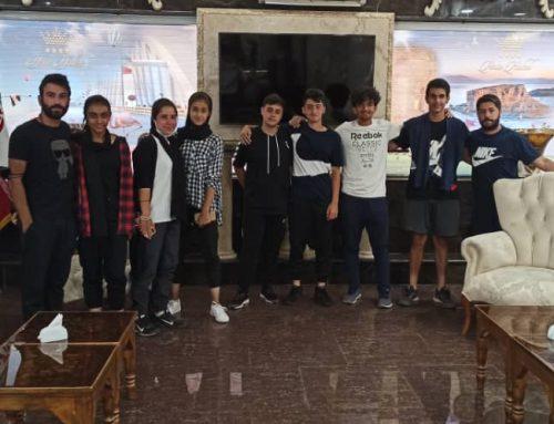 هتل آریا میزبان ورزشکاران تور تنیس جهانی جوانان
